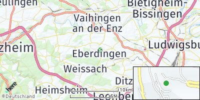 Google Map of Eberdingen