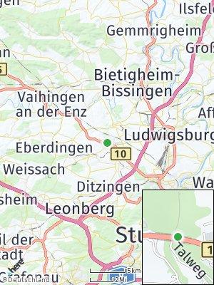 Here Map of Schwieberdingen