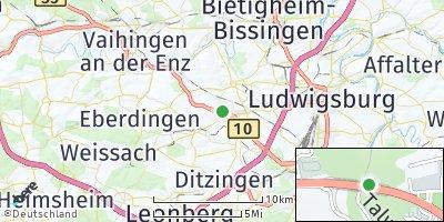 Google Map of Schwieberdingen