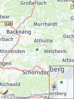 Here Map of Rudersberg