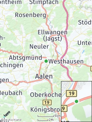 Here Map of Brausenried