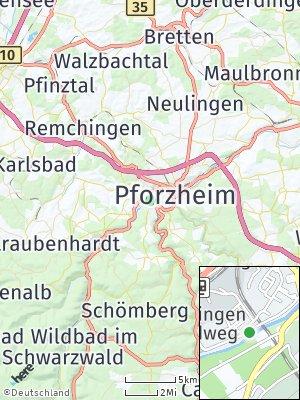 Here Map of Brötzingen
