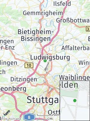 Here Map of Pflugfelden
