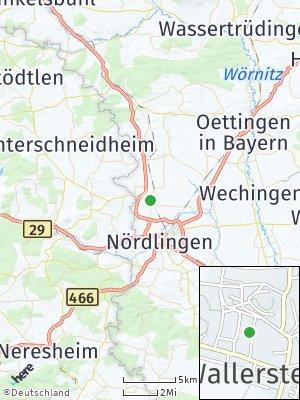 Here Map of Wallerstein