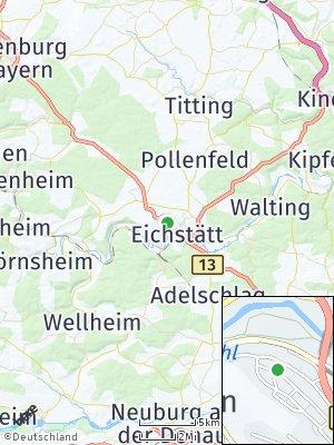 Here Map of Eichstätt