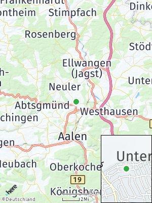 Here Map of Hüttlingen