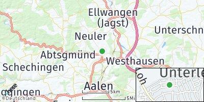 Google Map of Hüttlingen