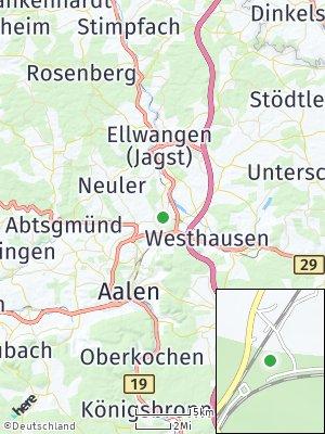 Here Map of Goldshöfe
