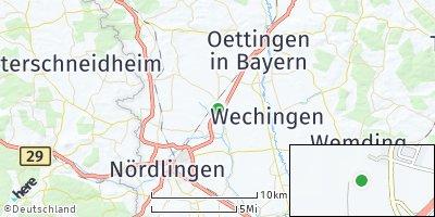 Google Map of Dürrenzimmern