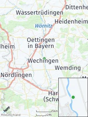 Here Map of Wechingen