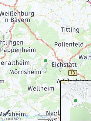 Here Map of Schernfeld