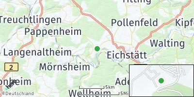 Google Map of Schernfeld