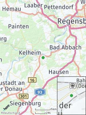 Here Map of Saal an der Donau