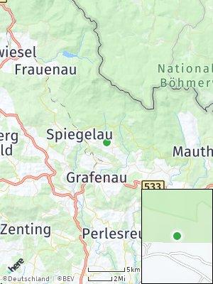 Here Map of Sankt Oswald-Riedlhütte
