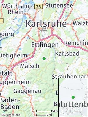 Here Map of Schluttenbach