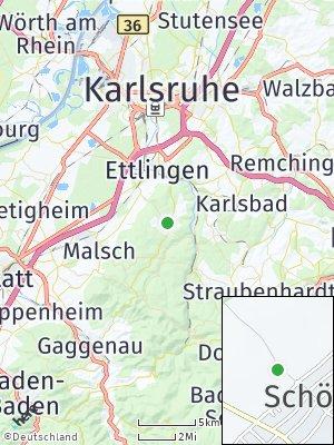 Here Map of Schöllbronn