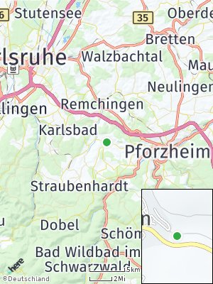 Here Map of Keltern