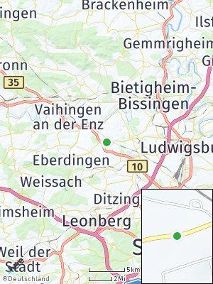 Here Map of Pulverdingen