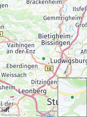 Here Map of Markgröningen