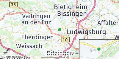 Google Map of Markgröningen