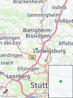 Here Map of Stadt Asperg