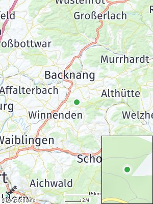 Here Map of Horbach