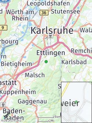 Here Map of Oberweier