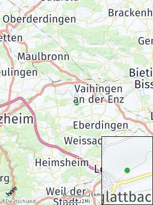 Here Map of Großglattbach