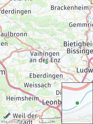 Here Map of Enzweihingen