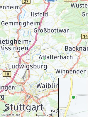 Here Map of Poppenweiler