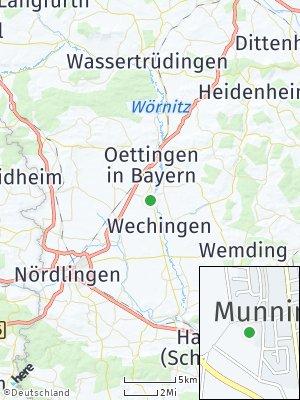 Here Map of Munningen