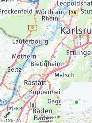 Here Map of Bietigheim