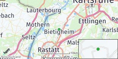 Google Map of Bietigheim