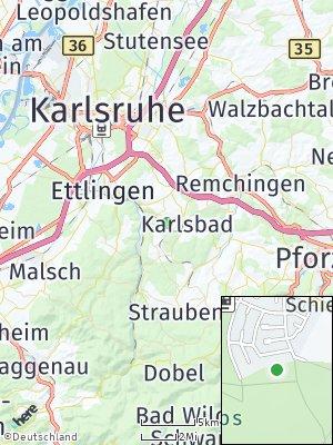 Here Map of Waldbronn