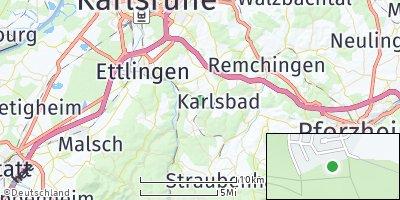 Google Map of Waldbronn