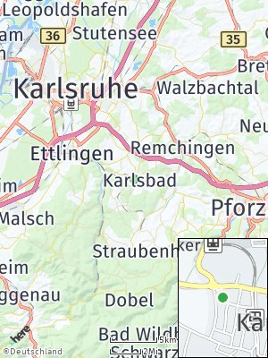 Here Map of Karlsbad