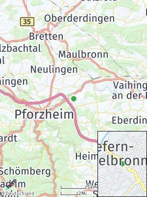 Here Map of Niefern-Öschelbronn