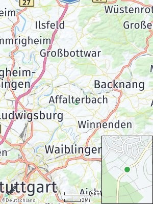 Here Map of Affalterbach