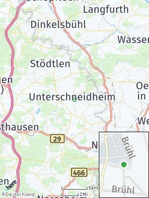 Here Map of Unterschneidheim