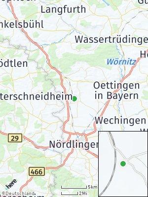 Here Map of Marktoffingen