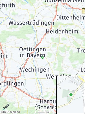 Here Map of Megesheim