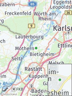Here Map of Elchesheim-Illingen