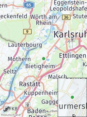 Here Map of Durmersheim