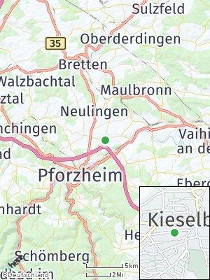 Here Map of Kieselbronn