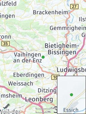 Here Map of Oberriexingen