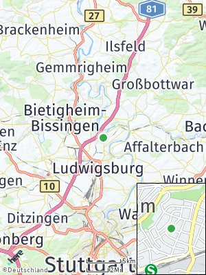 Here Map of Freiberg am Neckar