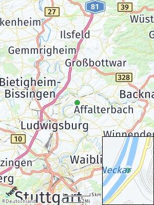 Here Map of Marbach am Neckar