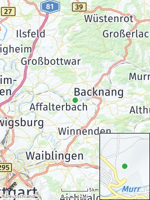 Here Map of Burgstetten