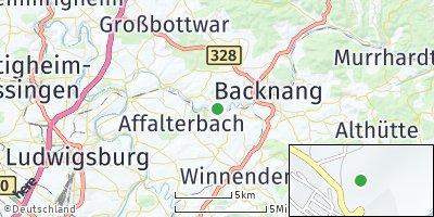 Google Map of Burgstetten