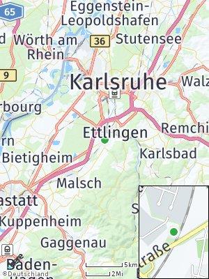 Here Map of Ettlingenweier